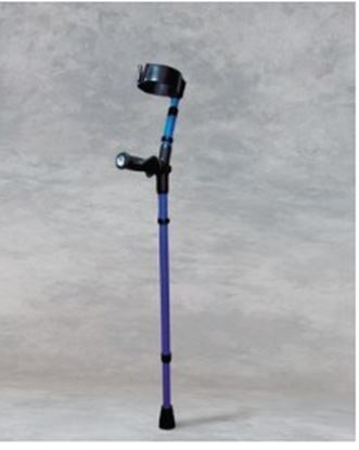 Picture of Softgrip Hand crutches - Turquoise