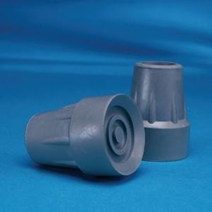 "Picture of Crutch Tips 25mm (1"") Grey"