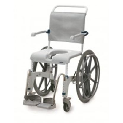 Picture of Ocean XL Self Propel Shower Chair Commode