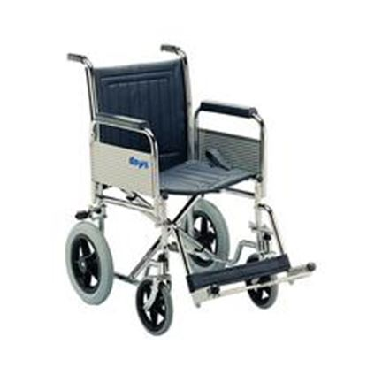 Picture of Transit Wheelchair det arms, footrests (fold back) Narrow