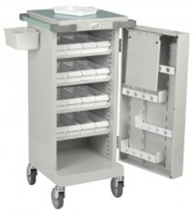 Picture of Unit Dosage Trolley, 16 LA Trays, Single Door