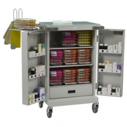 Picture of M.D System,Double Door,Nine Frame Capacity,drawer