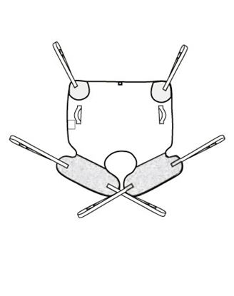 Picture of Deluxe Amputee Sling - XL