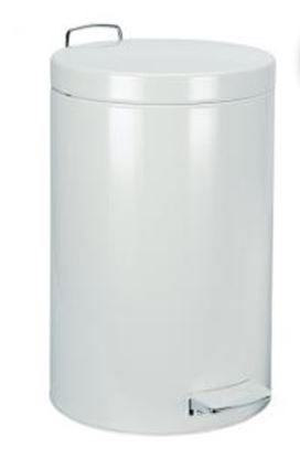 Picture of 12 Litre Pedal Bin White