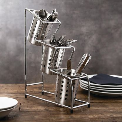 Picture of Round Metal Cutlery Basket