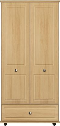 Picture of ANTLIA 2 Door Robe with single bottom drawer