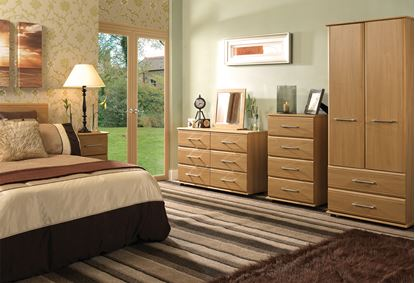 Picture of ANTLIA Bedroom Furniture Set with 4 Drawer Chest