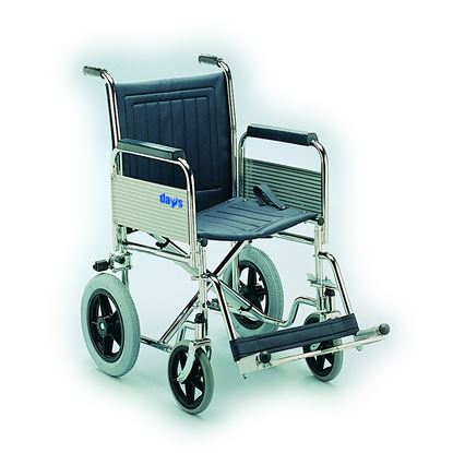 """Picture of Days 18"""" Car Transit Wheelchair with Folding Back"""