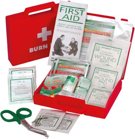 Picture for category Burns First Aid Kit