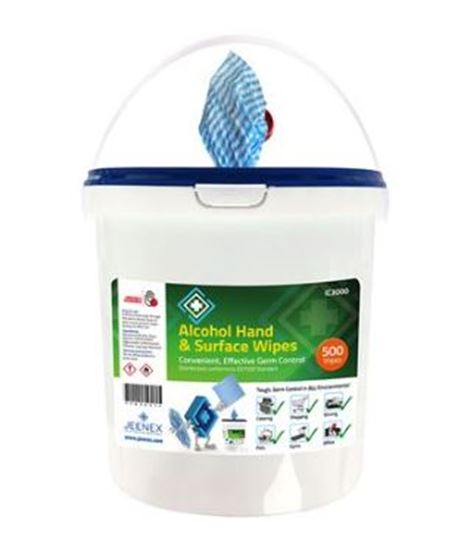 Picture of Alcohol Hand & Surface Wipes Bucket 460